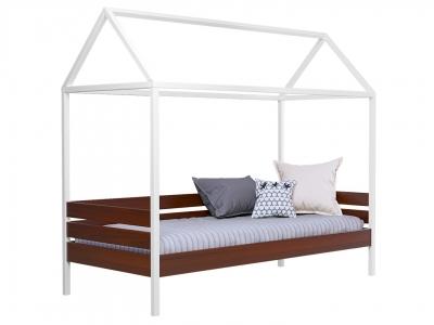 Кровать Амми массив каштан без ящиков и без планки